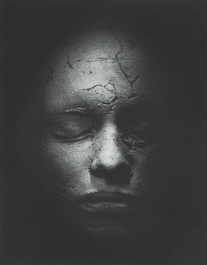 David Woolfall MUMMIFIED  FACE See All Abstract/Conceptual
