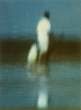 Rachel Lever BLURRY MAN AND CHILD ON BEACH See All Abstract/Conceptual