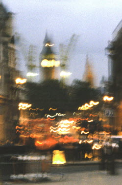 Rachel Lever LONDON CITY WITH BIG BEN Specific Cities/Towns