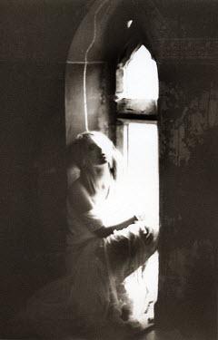 Jon Hatfull WOMAN SITTING IN WINDOW Women