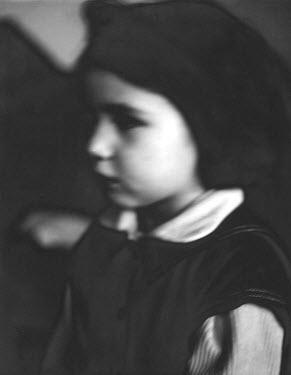 Roderick Field YOUNG GIRL IN UNIFORM Children