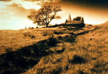Eddie Ephraums CHURCH ON HILLTOP Fields