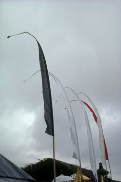 Bruce Chatwin PRAYER FLAGS WITH CLOUDS IN SKY Miscellaneous Objects