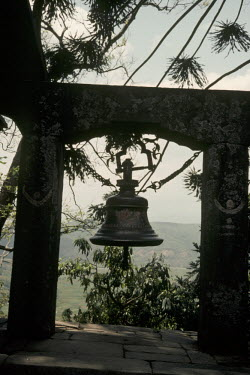 Bruce Chatwin LARGE OUTDOOR BELL IN NEPAL Miscellaneous Objects