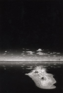 Michael Trevillion LAKE IN BARREN LANDSCAPE Desert