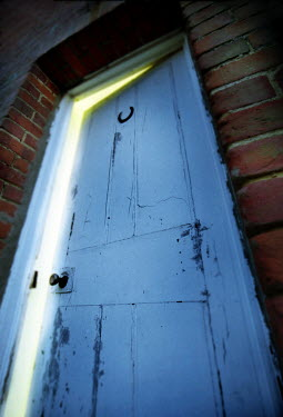 Paul Knight BLUE DOOR Building Detail