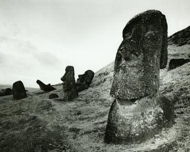 Andrew Davis MOAI ON EASTER ISLAND Rocks/Mountains