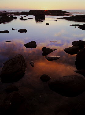 Guillaume Simioni LARGE ROCK POOL BY SEA Seascapes/Beaches