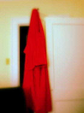 Jay Sinclair BATHROBE HANGING ON DOOR Miscellaneous Objects