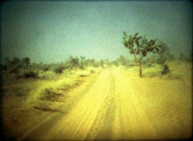 Jessica Hilltout EMPTY DESERT ROAD Desert