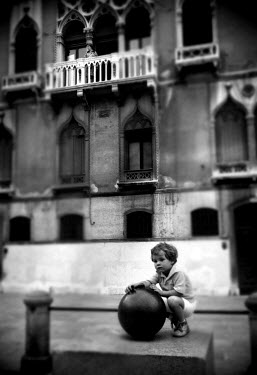 Adrian Muttitt BOY WITH BALL Children