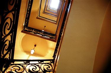 Elisa Noguera ORNATE STAIRWELL Stairs/Steps
