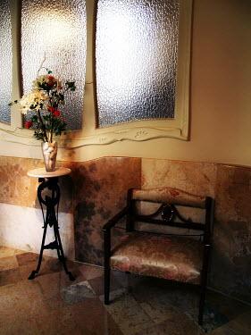 Claire Morgan EMPTY CHAIR IN HALLWAY Interiors/Rooms