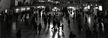 David Henderson GRAND CENTRAL STATION NEW YORK Groups/Crowds