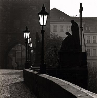 David Henderson CITY BRIDGE IN PRAGUE Specific Cities/Towns