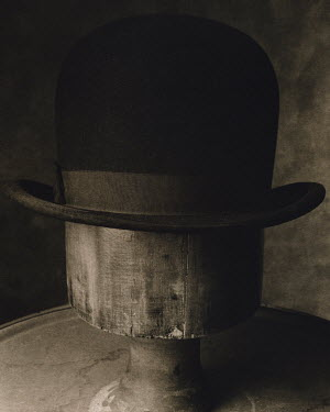 Dan Goldberg BOWLER HAT ON MANNEQUIN Miscellaneous Objects