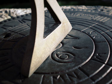 Nic Skerten CLOSE UP OF SUNDIAL Miscellaneous Objects