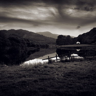 David McCormack FIELDS WITH LAKE Fields