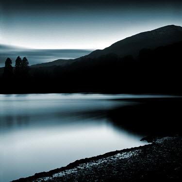 David McCormack LAKE WITH MOUNTAIN RANGE Lakes/Rivers