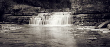 David McCormack WATERFALLS AND STONE POOL Miscellaneous Water