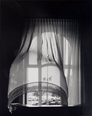 Rosemary Cooper OPEN WINDOW WITH CURTAIN Building Detail