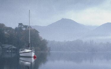 Ashley Franklin BOAT ON LAKE Boats