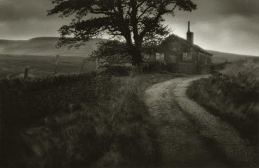 Andrew Sanderson COUNTRY ROAD BY REMOTE HOUSE Houses