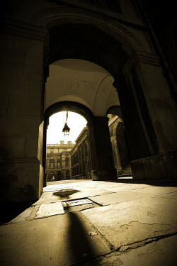 Geoff Eley HISTORIC ARCHED PASSAGEWAY Streets/Alleys