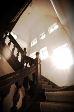 Geoff Eley ORNATE STAIRCASE Stairs/Steps