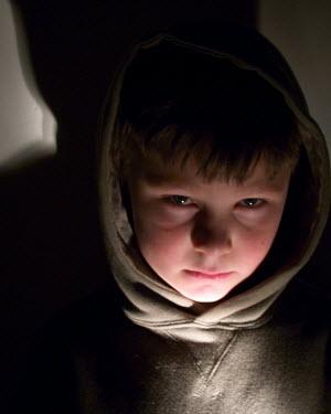 Clayton Bastiani CHILD IN DARK WITH SHADOWS Children