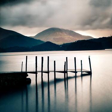 Paul Knight EMPTY JETTY ON LAKE Lakes/Rivers
