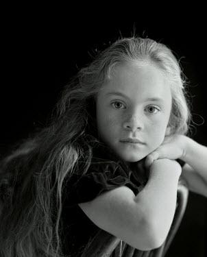 Maggie McCall YOUNG GIRL STUDIO SHOT Children