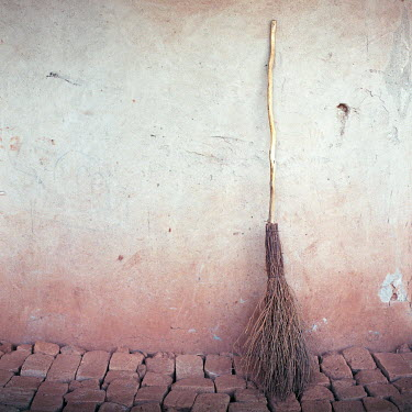 Jessica Hilltout BROOM LEANING AGAINST WALL Miscellaneous Objects