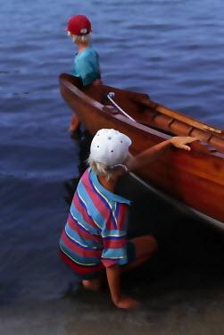 James Walker BOY BY BOAT Children