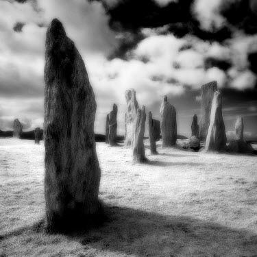 Steve Gosling ANCIENT STONE MONUMENTS IN FIELD Rocks/Mountains