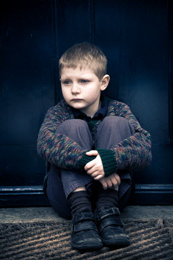 Paul Knight YOUNG BOY SAT ON FLOOR Children