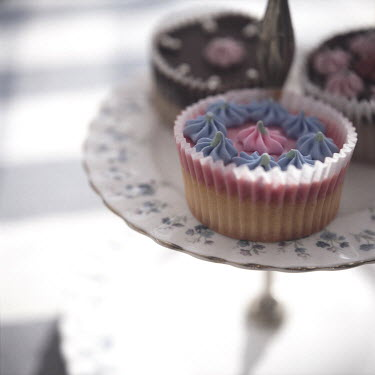 Janet Penny CUPCAKES ON CAKE STAND Miscellaneous Objects