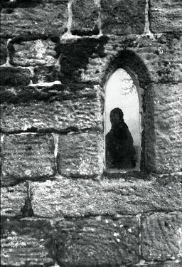 David Foster MAN SEEN THROUGH CHURCH WINDOW Men