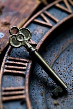 Adrian Muttitt KEY ON CLOCK FACE Miscellaneous Objects