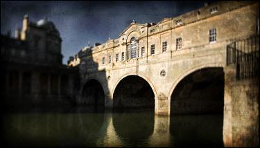 Mark Sadlier RIVER AND STONE BRIDGE Bridges