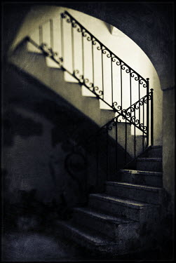 Mark Sadlier EMPTY INTERIOR STAIRCASE Stairs/Steps