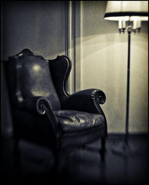 Mark Sadlier ARMCHAIR AND LAMP Interiors/Rooms