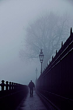 Geoff Eley MAN WALKING THROUGH FOG Men