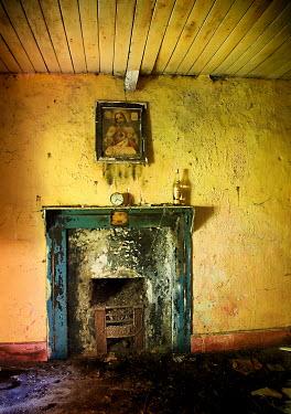 Harry Pettis DERELICT MANTELPIECE Interiors/Rooms