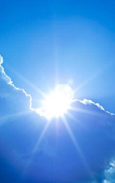 Douglas Black SUN EMERGING FROM BEHIND CLOUDS Fields