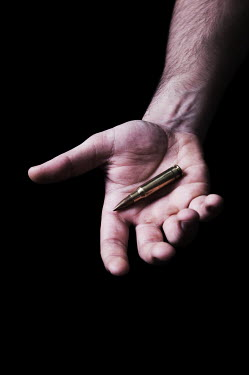 Mohamad Itani HAND WITH BULLET Body Detail