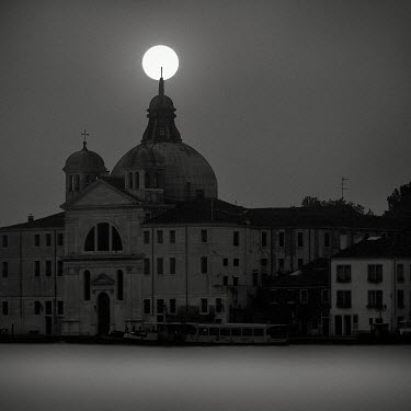 Jonathan Chritchley FULL MOON OVER VENICE Religious Buildings