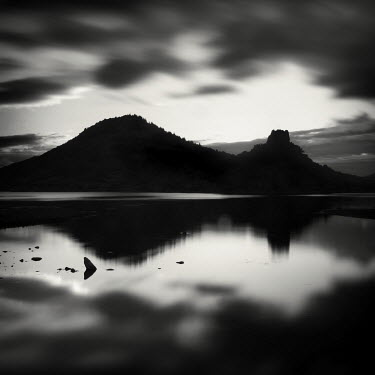 Jonathan Chritchley MOUNTAIN BEHIND LAKE Lakes/Rivers