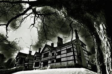 Matt Nuttall SPOOKY HOUSE AT NIGHT Houses