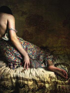 Chiara Fersini WOMAN LYING BED Women